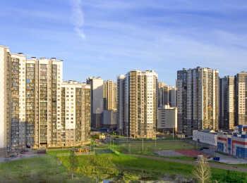 Панорама 12 домов переменной этажности